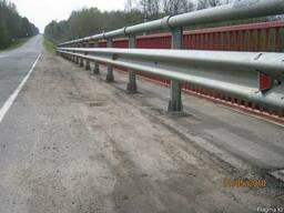 11МО Мостовые ограждения барьерного типа - фото 2