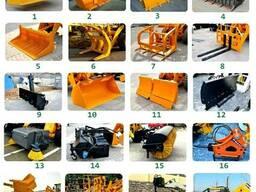 75 ед. сменного навесного оборудования для погрузчиков