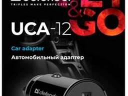 Адаптер питания Defender UCA-12 черный, 1xUSB, 5V/1А