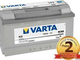 Аккумулятор Varta 100Ah доставкой и установкой 87074808949