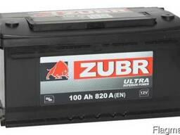 Аккумуляторы для авто ZUBR
