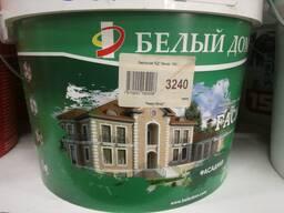 Акриловая водно-дисперсионная краска Фасадная — Белый Дом 10