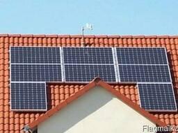 Альтернативная энергия (солнечные панели, ветровые генератор