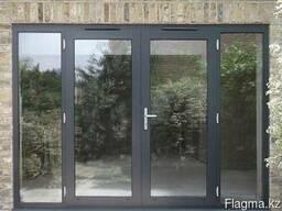 Алюминиевые окна двери, витражи, входные группы, перегородки