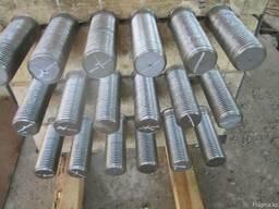 Анкерная тяга с накладками 70x335x80 мм 09Г2С СНиП 3-18-95