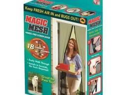 Антимоскитная сетка на магнитах Magic Mesh Buzz Off
