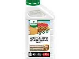 Антисептик для древесины Prosept Exterior для наружных работ