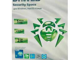 Антивирус Dr. Web Security Space (NEW коробка) для всех. ..