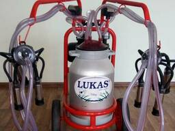 Аппарат доильный LUKAS (Турция) на 2 коровы