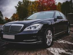 Аренда авто Mercedes-Benz S-class W221 с водителем без посре