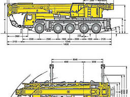 Аренда крана 130 тонн (Казахстан, Россия, страны СНГ)