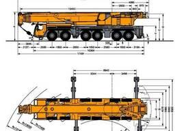 Аренда крана 250 тонн (Казахстан, Россия, страны СНГ)