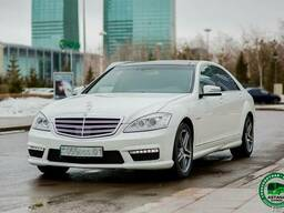 Аренда Mercedes Benz w 221 на свадьбу