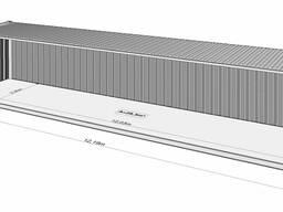 Морской 40-ка футовый контейнер. Аренда. Казахстан, г. Костанай.