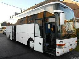 Аренда прокат автобуса в Астане. Спальный салон.