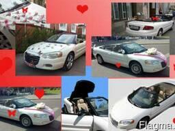 Аренда, прокат белого кабриолета Chrysler - фото 3