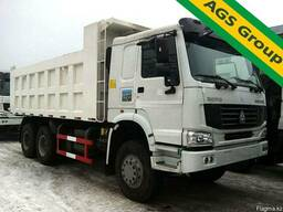 Аренда самосвалов грузовых автомобилей HOWO