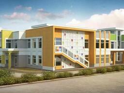 Архитектурное проектирование детских садов