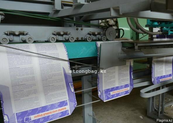 Армированные бумажные мешки открытого закрытого типа