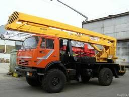 Автогидроподъемник ВС-22.06 шасси КамАЗ-4326 (4х4)