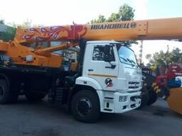 Автокран 16 тонн Ивановец