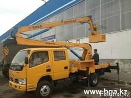 Автовышка DongFeng,высота подьема 14 метров,г/п 200 кг