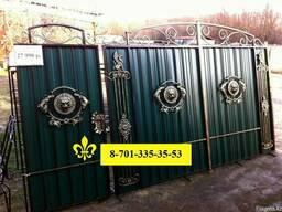 Ажурные-кованные ворота калитка