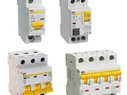 Автоматические выключателиBA 47-100 D (1Ф) 50A IEK