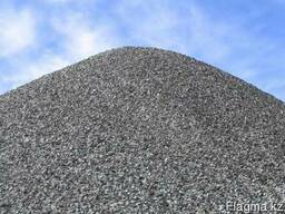 Щебень 20-40, 40-80 в Караганде КАМАЗ 12 тонн