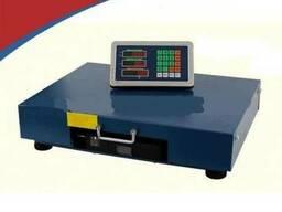 Беспроводные платформенные весы 300, 600 и 1000кг.