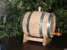 Бочка дубовая для вина на 10 литров