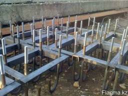 We produce metal structures-any type of Foundation blocks.