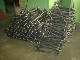 БОЛТЫ фундаментные ГОСТ 24379.1-80 с анкерной плитой сталь С
