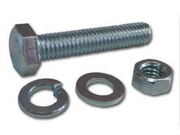 Болты стальные по стандарту DIN 933.