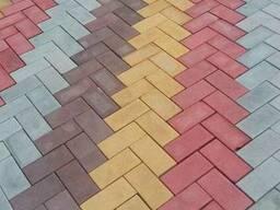 Брусчатка, тротуарная плитка, поребрик