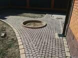 Брусчатка тротуарная Прямолинейный пласт - фото 1
