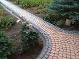 Брусчатка тротуарная Прямолинейный пласт - фото 8