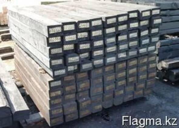 Брусья деревянные для стрелочных переводов железных дорог