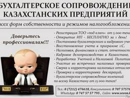 Бухгалтерские и налоговые услуги в Казахстане
