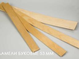 Буковая ламель от производителя /Украина/