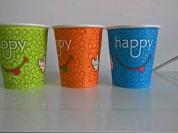 Бумажные стаканы для холодных и горячих напитков. - фото 4