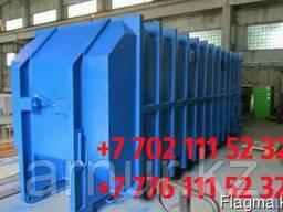Бункер накопитель для ТБО 35м3, бункер мусорный