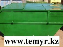 Бункер накопитель для ТБО в Астане, 8м3