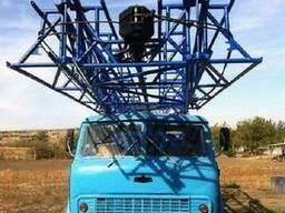 Буровая установка УРБ-3АМ на базе Маза 500 разведочного буре