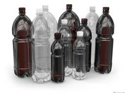 Бутылка пластиковая от 05 до 5 литров
