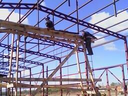 Строительство каркасных и бескаркасных зданий.