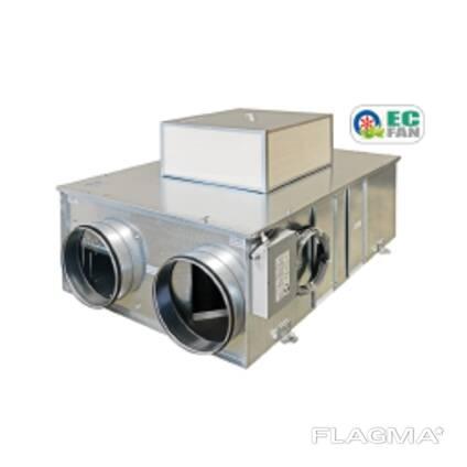 Cellulosic HRU with EC FAN