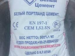 Цемент белый Иранский( усиленный) - 500 D0