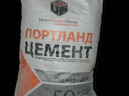 Цемент ПЦ-400 (тара 50 кг и БигБеги)