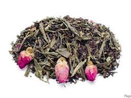 """Чай ароматизированный зелёный с чёрным """"Идеал"""" 0,5кг."""